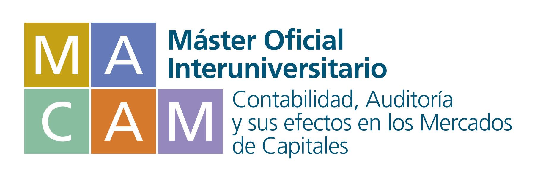 Master Oficial en Contabilidad, Auditoría y Mercados de Capitales